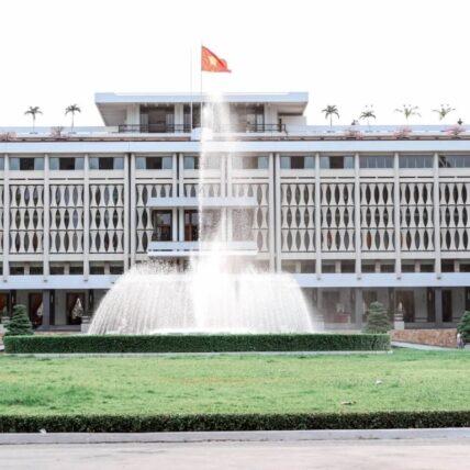 Vespa Tour Saigon - Independence Palace