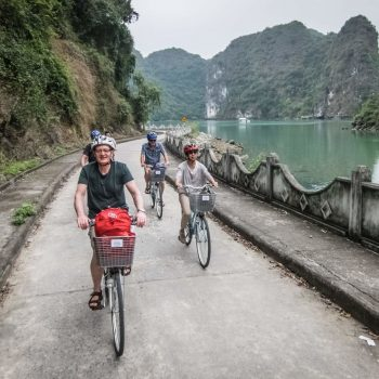 Cycling - Viet Hai - Cat Ba - Lan Ha Bay