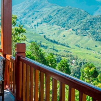 Amazing view from the Topas Ecolodge bungalows