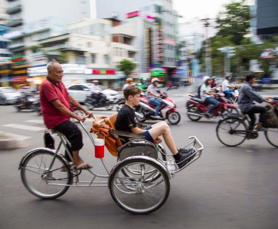 cyclo saigon
