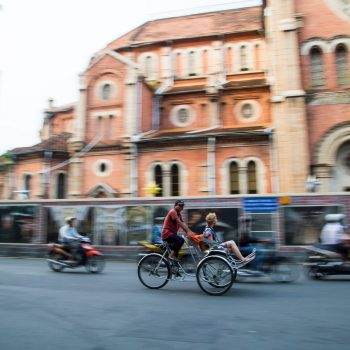 Ho Chi Minh City road