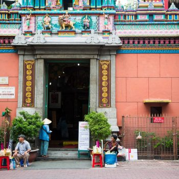 billede af et Ho Chi Minh City tempel