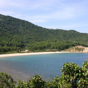 Exotic beach in Hoi An