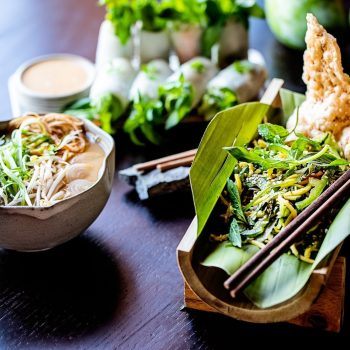 Topas Ecolodge Vietnamese food